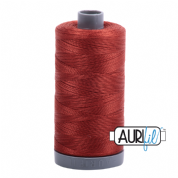 Aurifil 28 Cotton Thread - 2385 (Dark Teracotta)